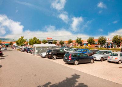 Eiderpark Parkplatz
